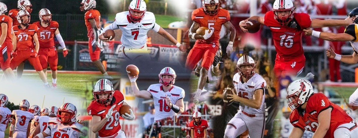 Jackson Ironmen Football Collage