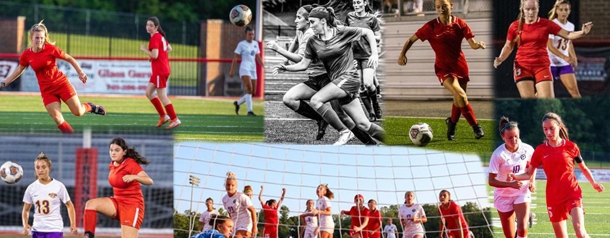 Jackson Girls Soccer Collage