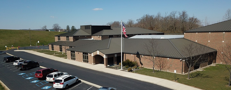 Westview Elementary School main entrance