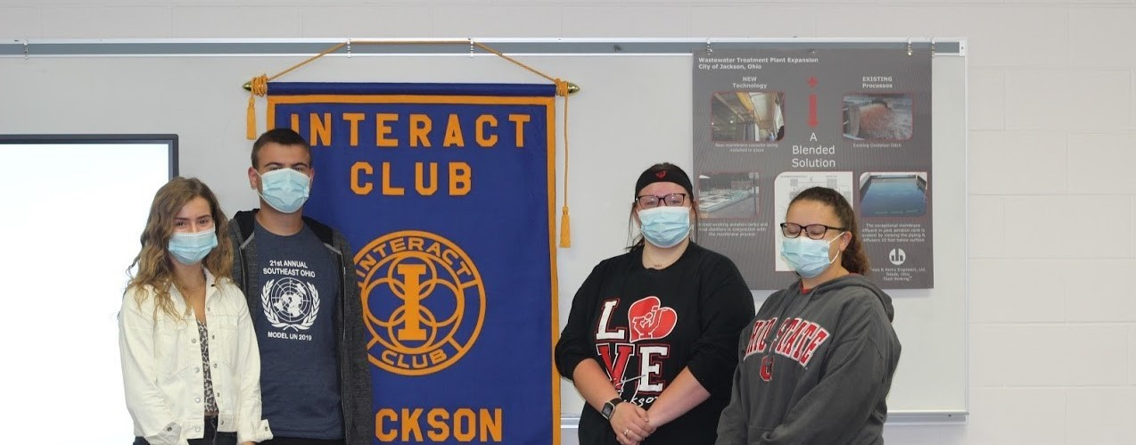 Interact club group photo